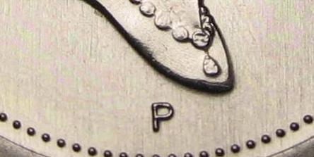 10 cents 2001 - P