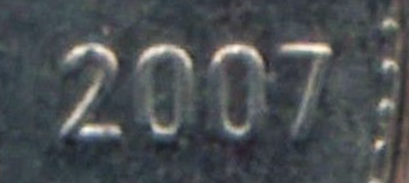 10 cents 2007 - Straight 7
