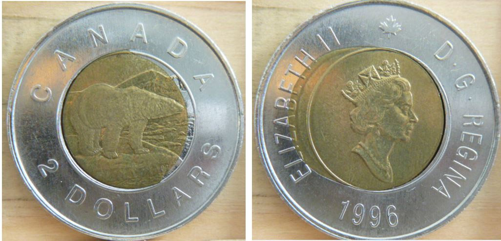 Coins and Canada - 2 dollars 1996 - Canadian coins price