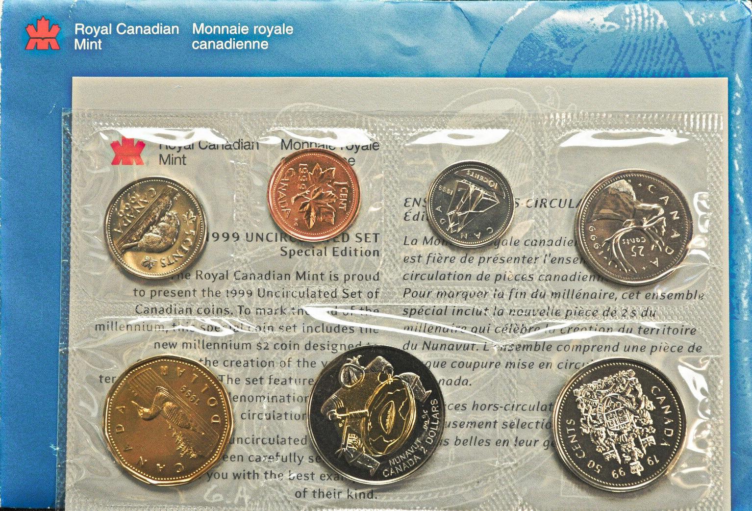 SPECIMEN 1999-10-cents Uncirculated RCM