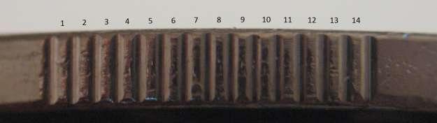 2 dollars 2010 - 14 serrations