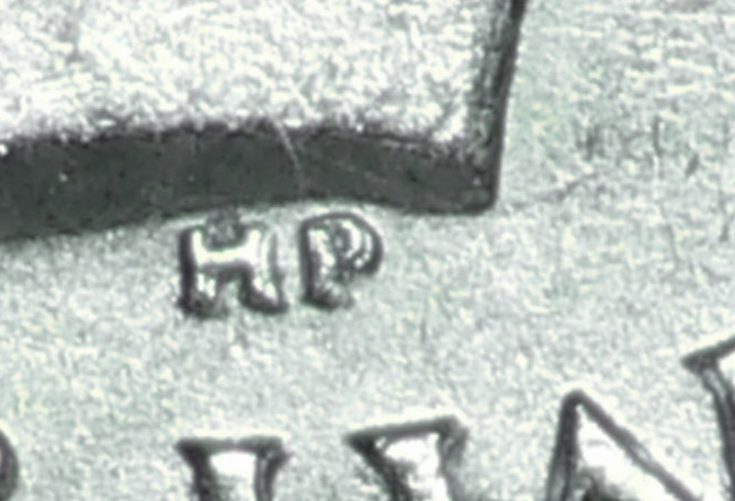 25 cents 1937 - Double HP