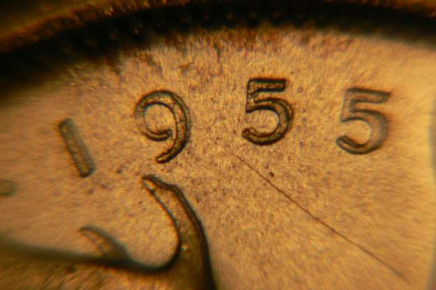 25 cents 1955 - Double die - Double 1955