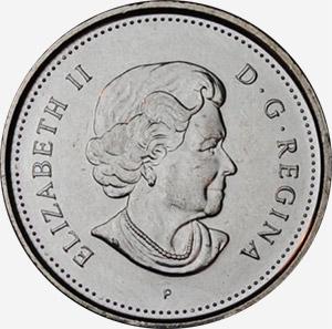 5 cents 2003 - New effigy - P