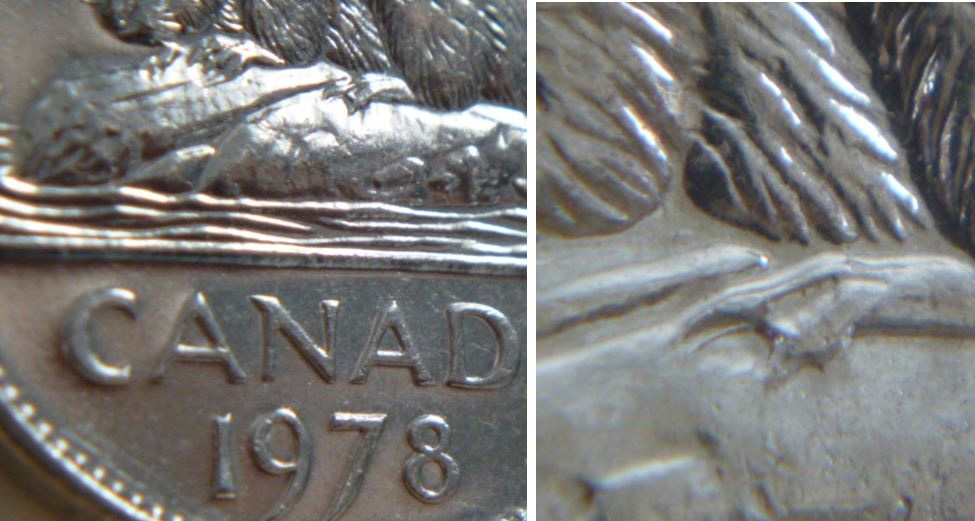 Coins and Canada - 5 cents 1978 - Canadian coins price guide and values