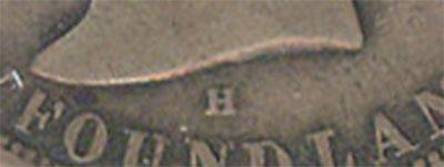 50 cents 1876 - H - Newfoundland