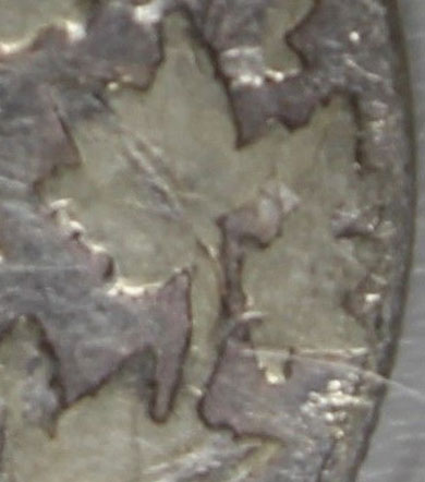 50 cents 1910 - Victorian Leaves