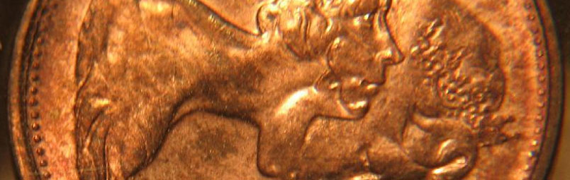Double struck : obverse on obverse