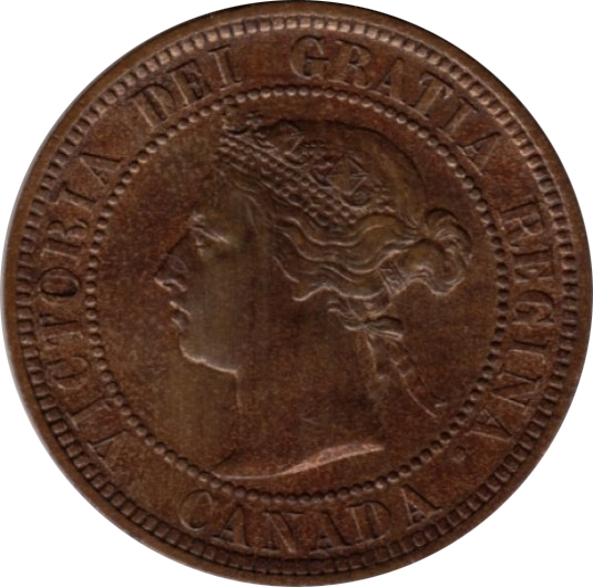 EF-40 - 1 cent 1876 to 1901 - Victoria