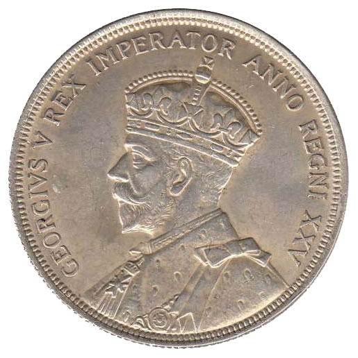 EF-40 - 1 dollar 1935 and 1936 - George V