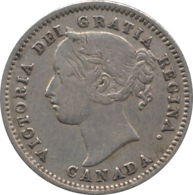 VG-8 - 10 cents 1858 to 1901 - Victoria