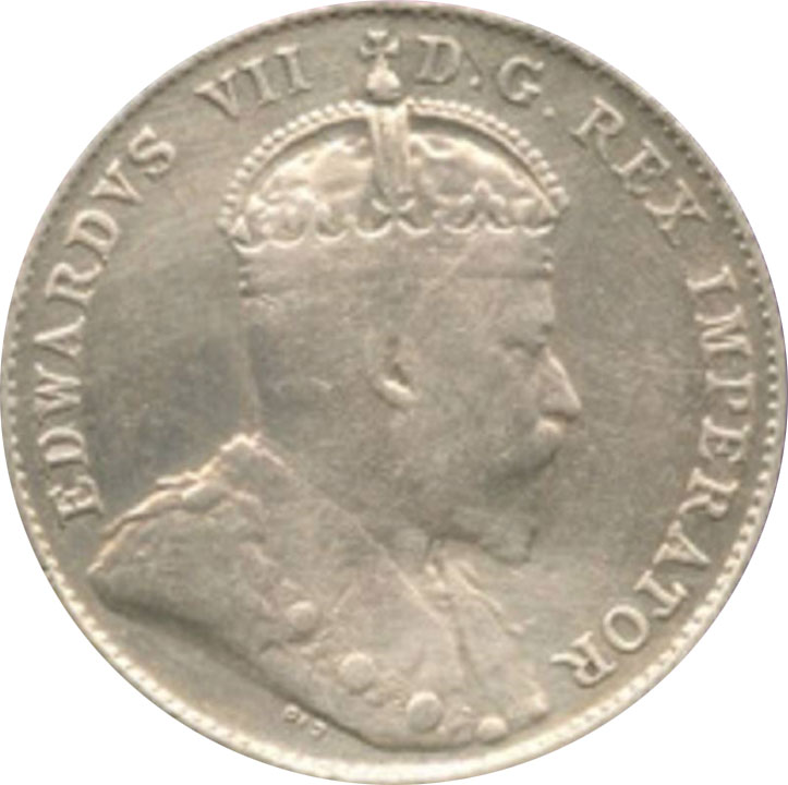 VG-8 - 10 cents 1902 to 1910 - Edward VII
