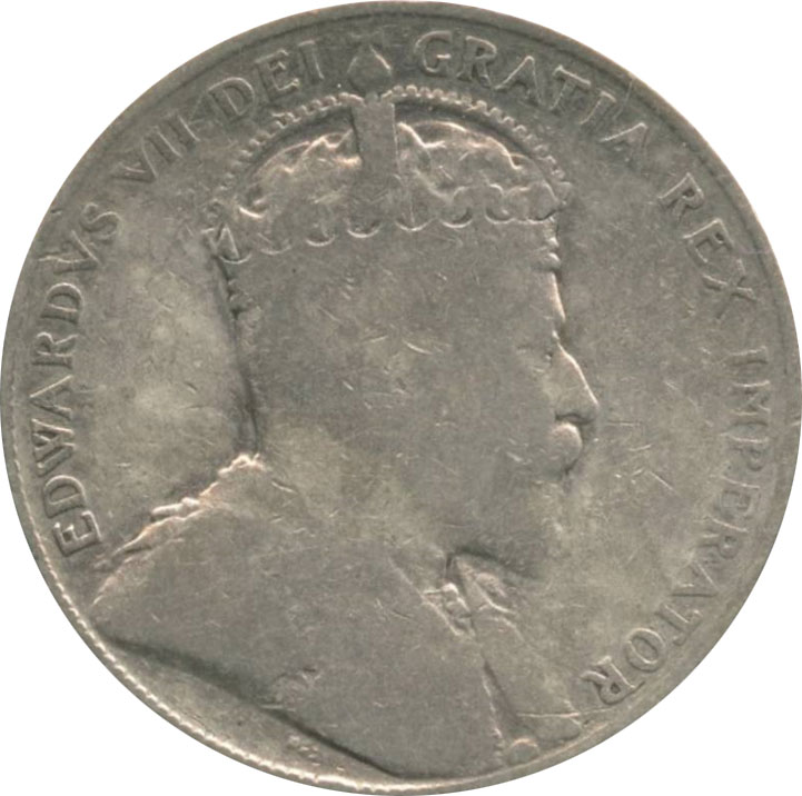 G-4 - 50 cents 1902 to 1910 - Edward VII