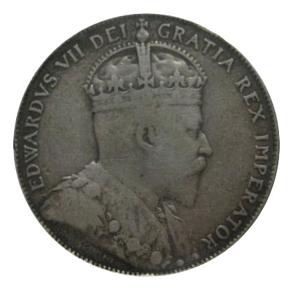 F-12 - 50 cents 1902 to 1910 - Edward VII
