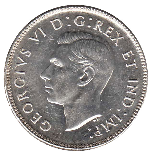 AU-50 - 50 cents 1937 to 1952 - George VI