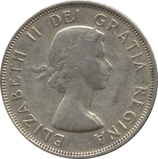 F-12 - 50 cents 1953 to 1964 - Elizabeth II