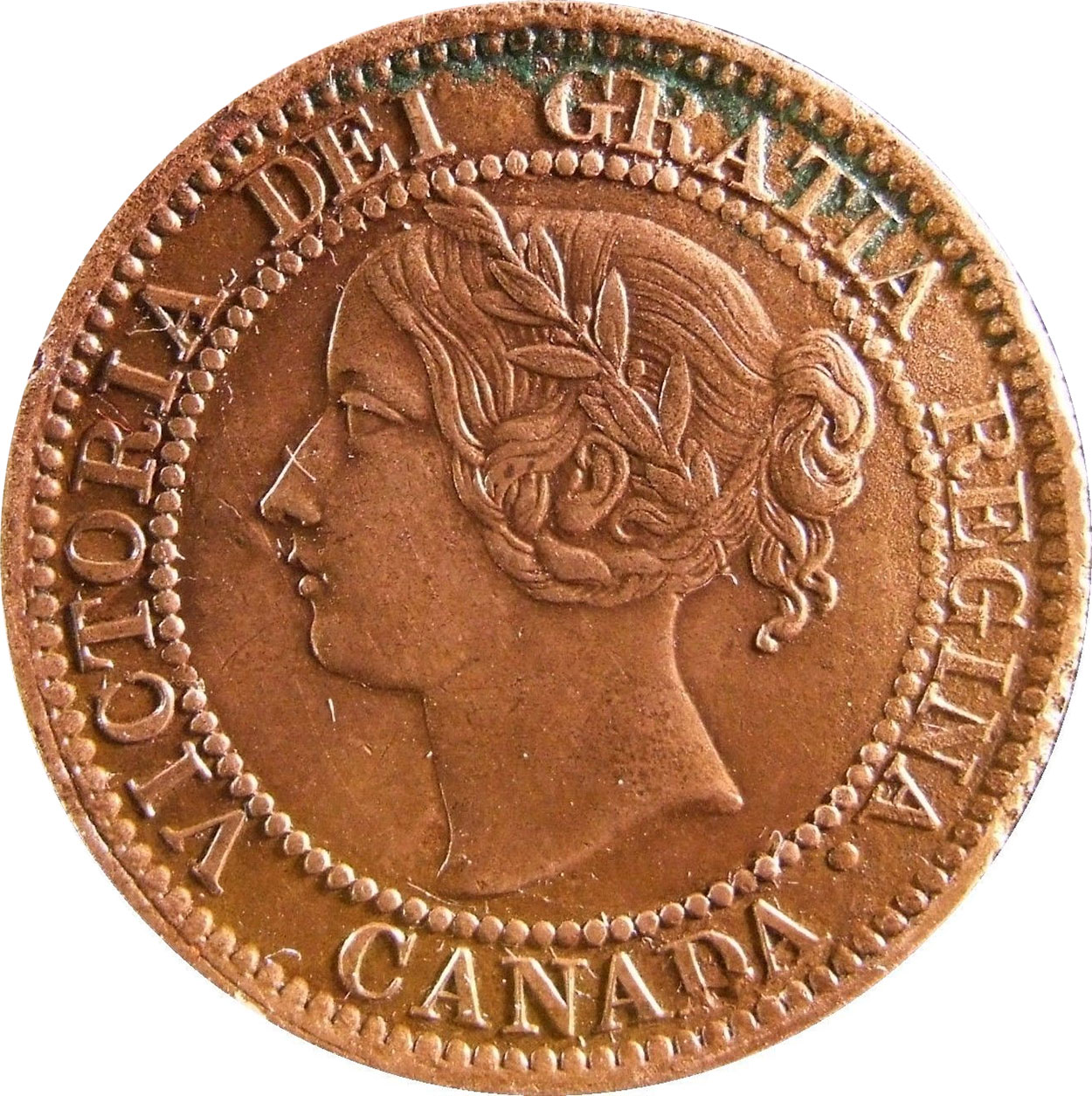 EF-40 - 1 cent 1858 and 1859 - Victoria