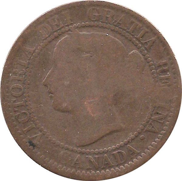 AG-3 - 1 cent 1858 and 1859 - Victoria