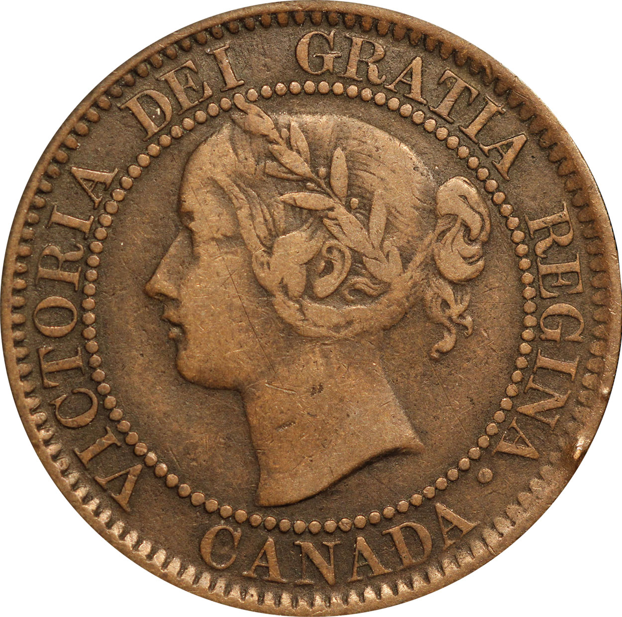 F-12 - 1 cent 1858 and 1859 - Victoria