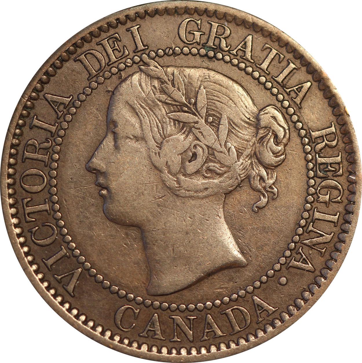 F-12 - 1 cent 1858 and 1859 - Victoria