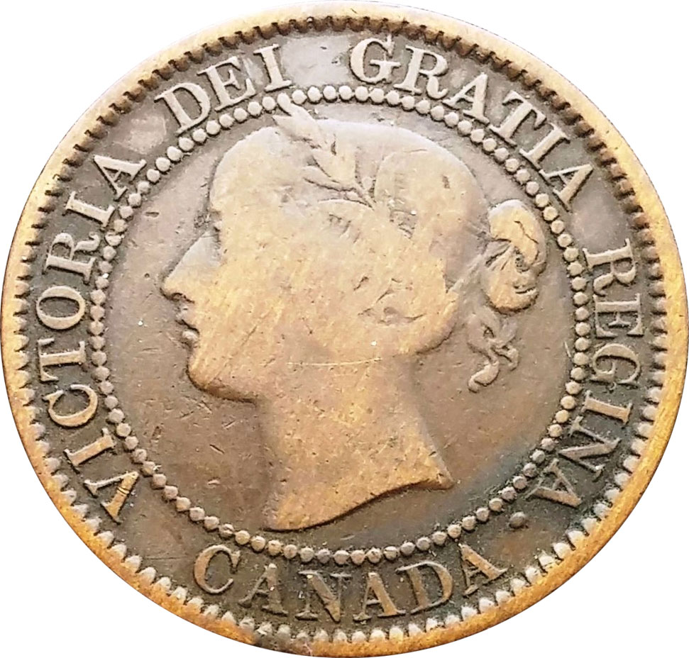 G-4 - 1 cent 1858 and 1859 - Victoria