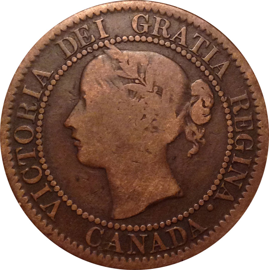 VG-8 - 1 cent 1858 and 1859 - Victoria