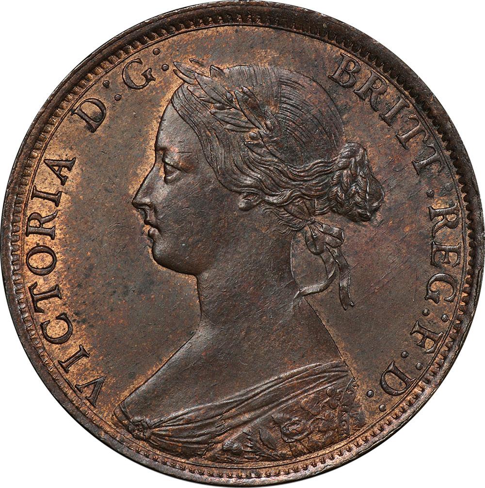 MS-60 - 1 cent 1861 and 1864 - Nova Scotia - Victoria