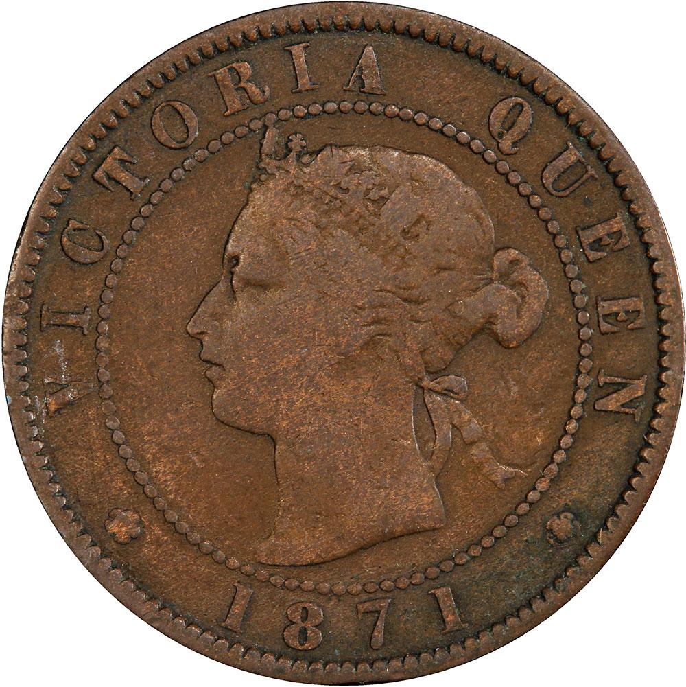 F-12 - 1 cent 1871 - Prince Edward Island - Victoria