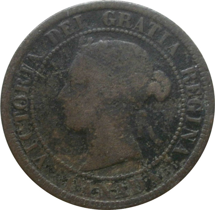 AG-3 - 1 cent 1876 to 1901 - Victoria