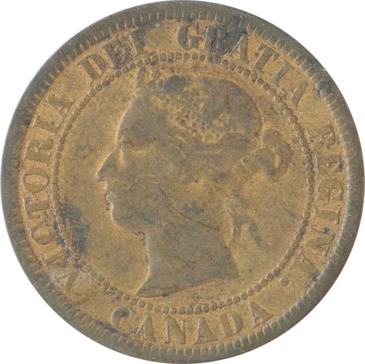 G-4 - 1 cent 1876 to 1901 - Victoria