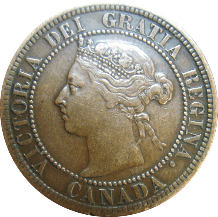VF-20 - 1 cent 1876 to 1901 - Victoria