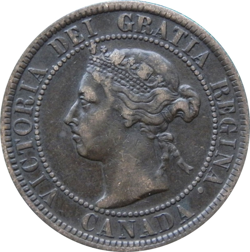 F-12 - 1 cent 1876 to 1901 - Victoria
