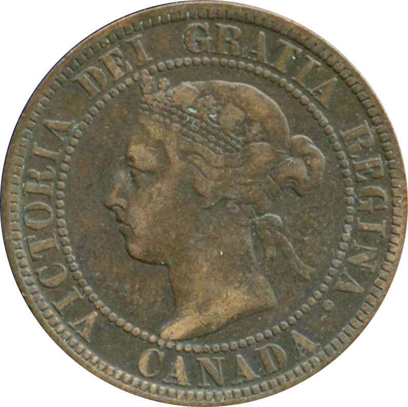 VG-8 - 1 cent 1876 to 1901 - Victoria