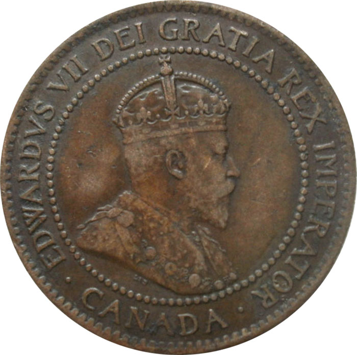 F-12 - 1 cent 1902 to 1910 - Edward VII