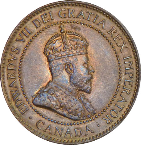 MS-60 - 1 cent 1902 to 1910 - Edward VII