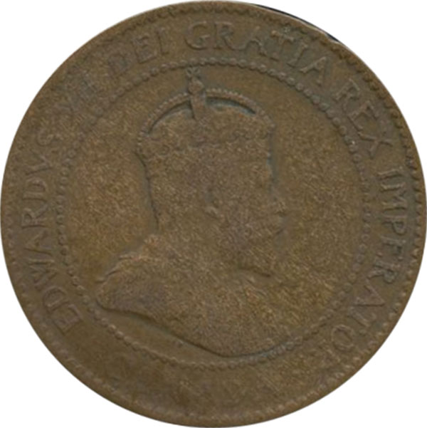 AG-3 - 1 cent 1902 to 1910 - Edward VII