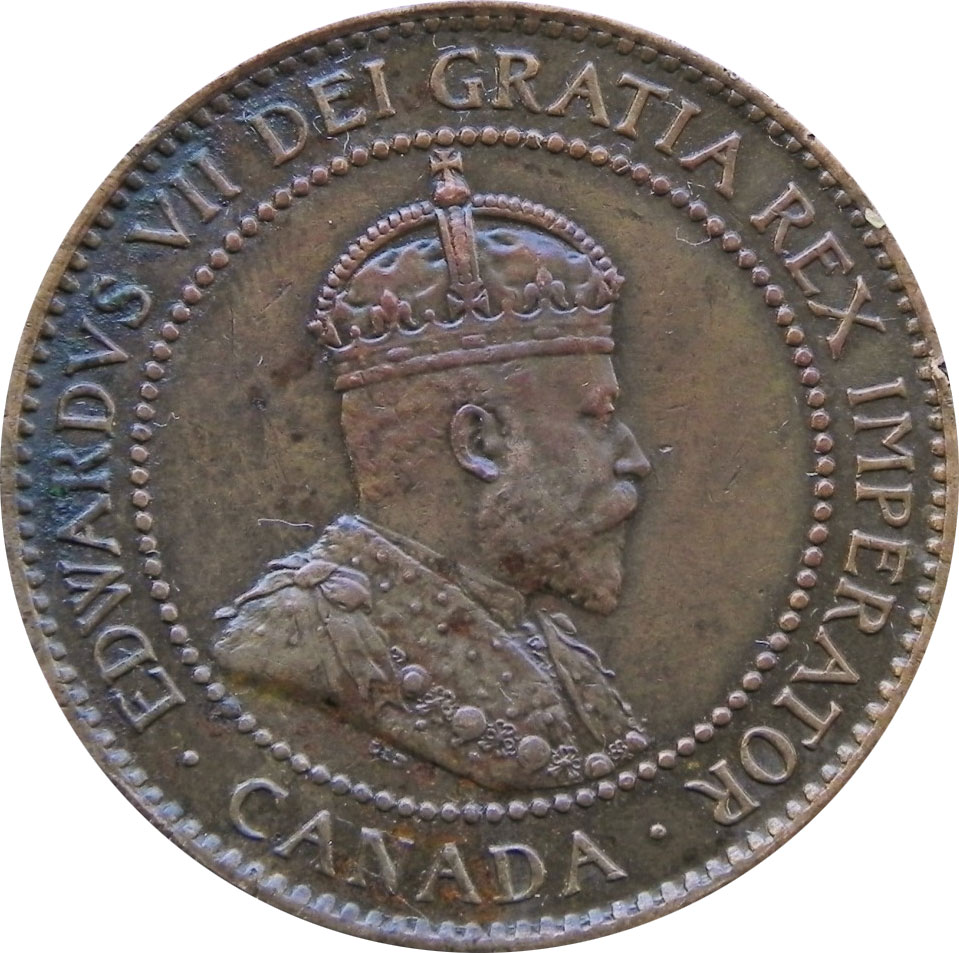VF-20 - 1 cent 1902 to 1910 - Edward VII
