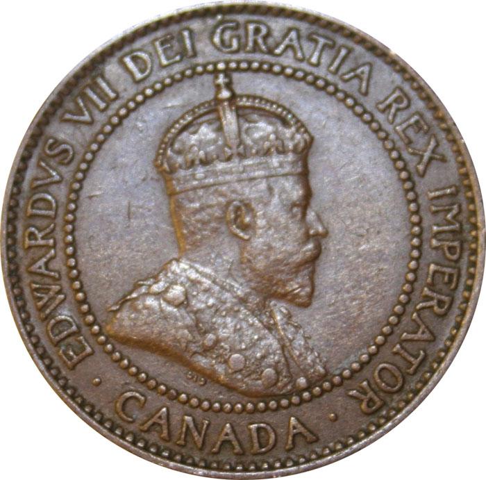 VF-20 - 1 cent 1902 to 1910 - Edward VII