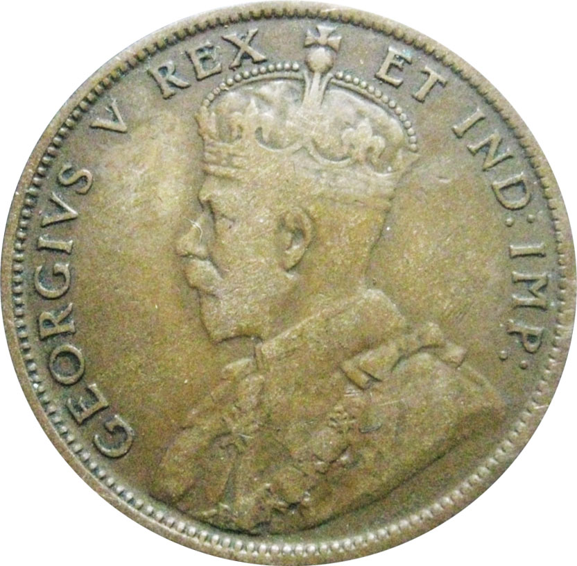 VG-8 - 1 cent 1911 to 1920 - George V