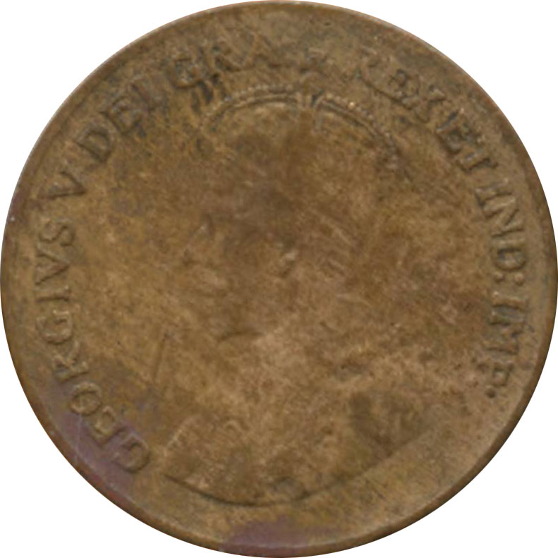 AG-3 - 1 cent 1920 to 1936 - George V