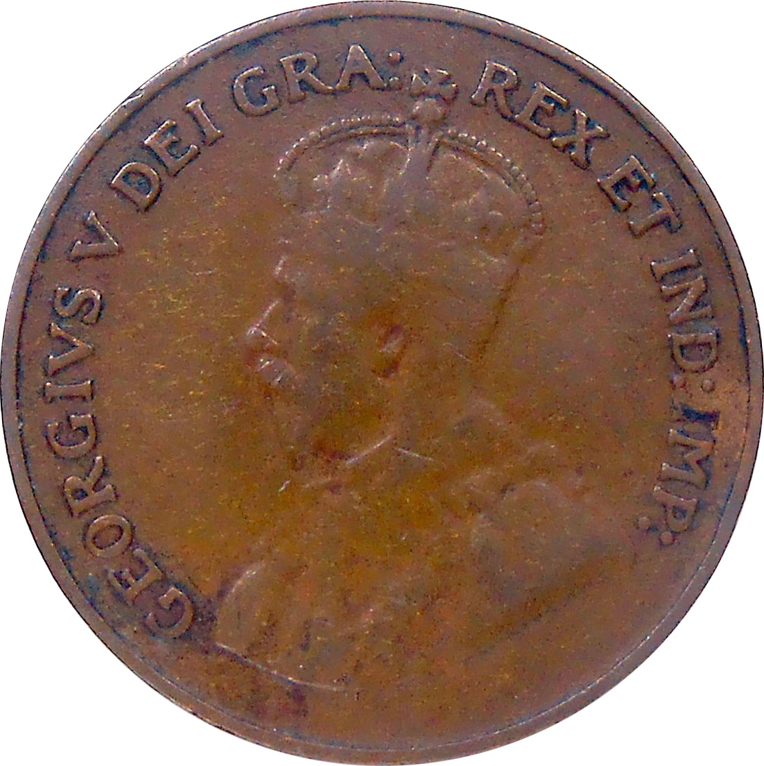 VG-8 - 1 cent 1920 to 1936 - George V