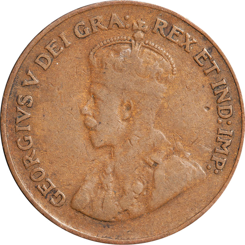 G-4 - 1 cent 1920 to 1936 - George V