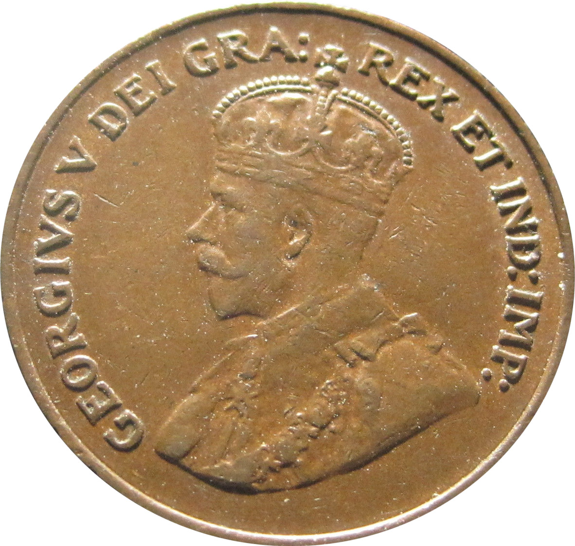 VF-20 - 1 cent 1920 to 1936 - George V