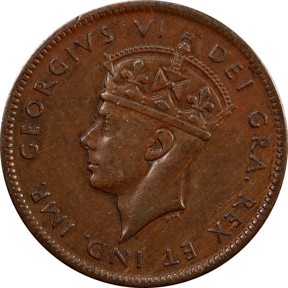 AU-50 - 1 cent 1938 to 1947 - Newfoundland - George VI