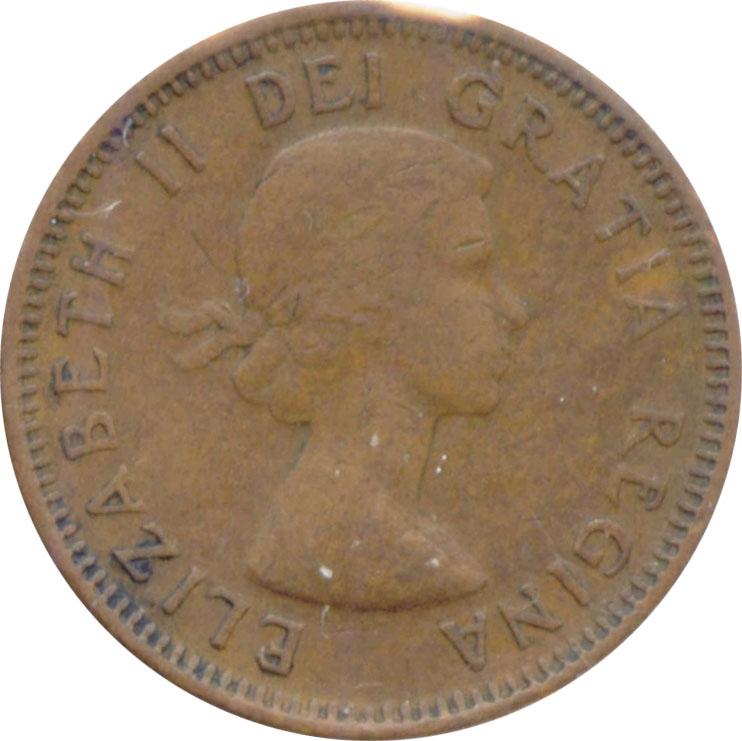 G-4 - 1 cent 1953 to 1964 - Elizabeth II