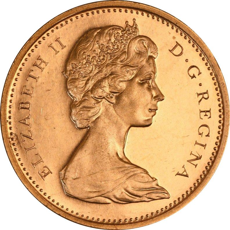 MS-60 - 1 cent 1965 to 1989 - Elizabeth II