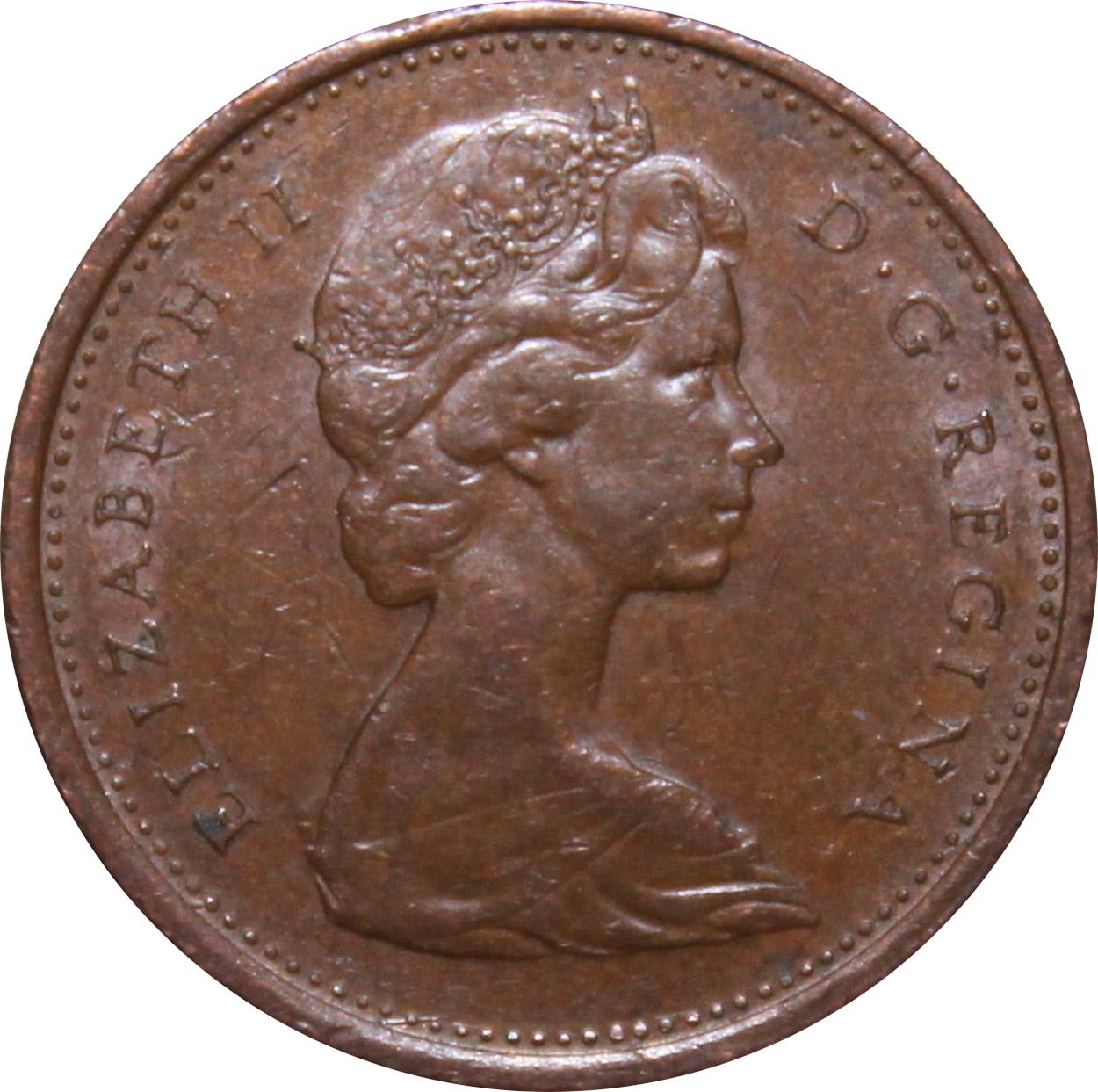 EF-40 - 1 cent 1965 to 1989 - Elizabeth II