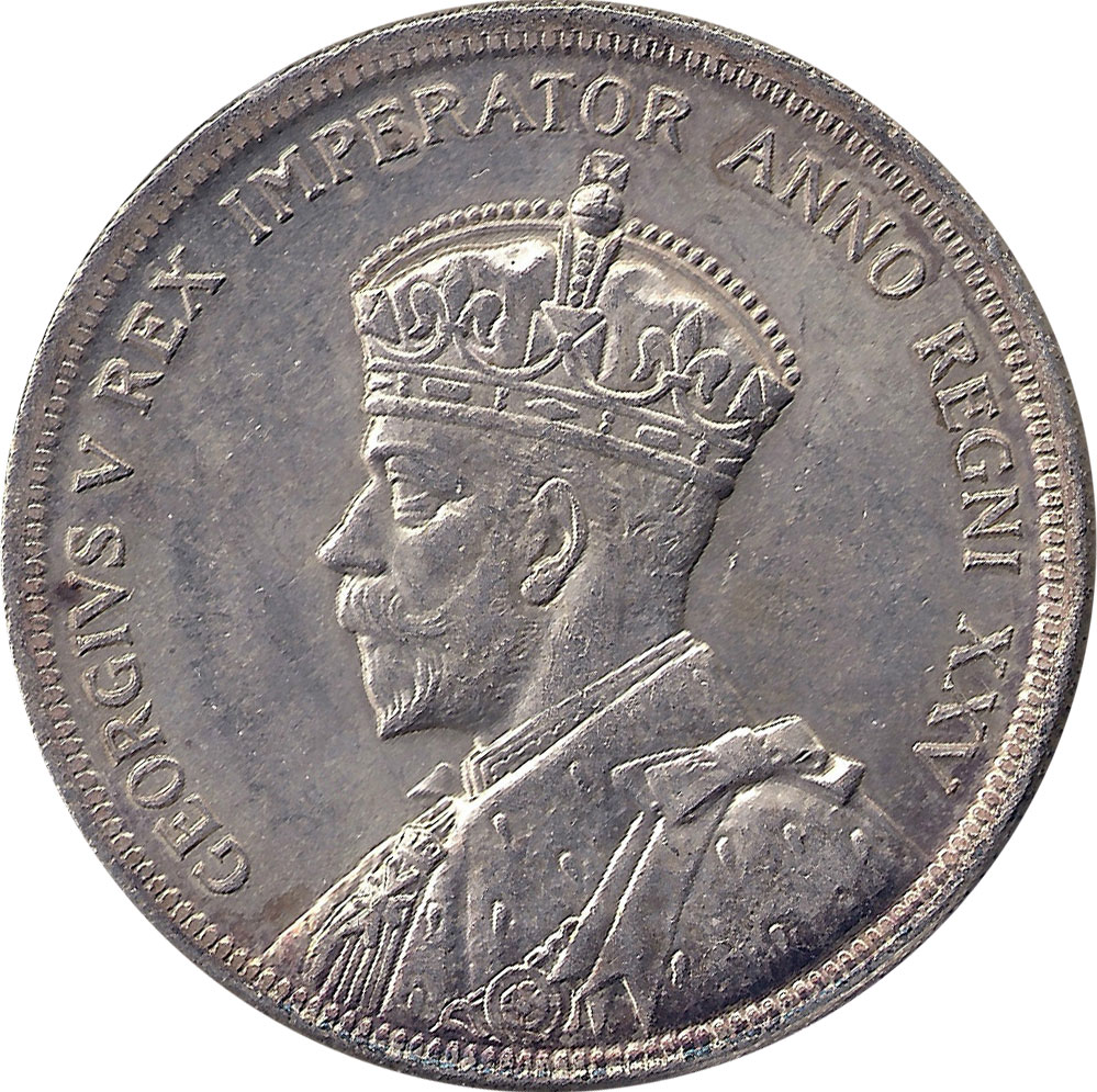 MS-60 - 1 dollar 1935 and 1936 - George V