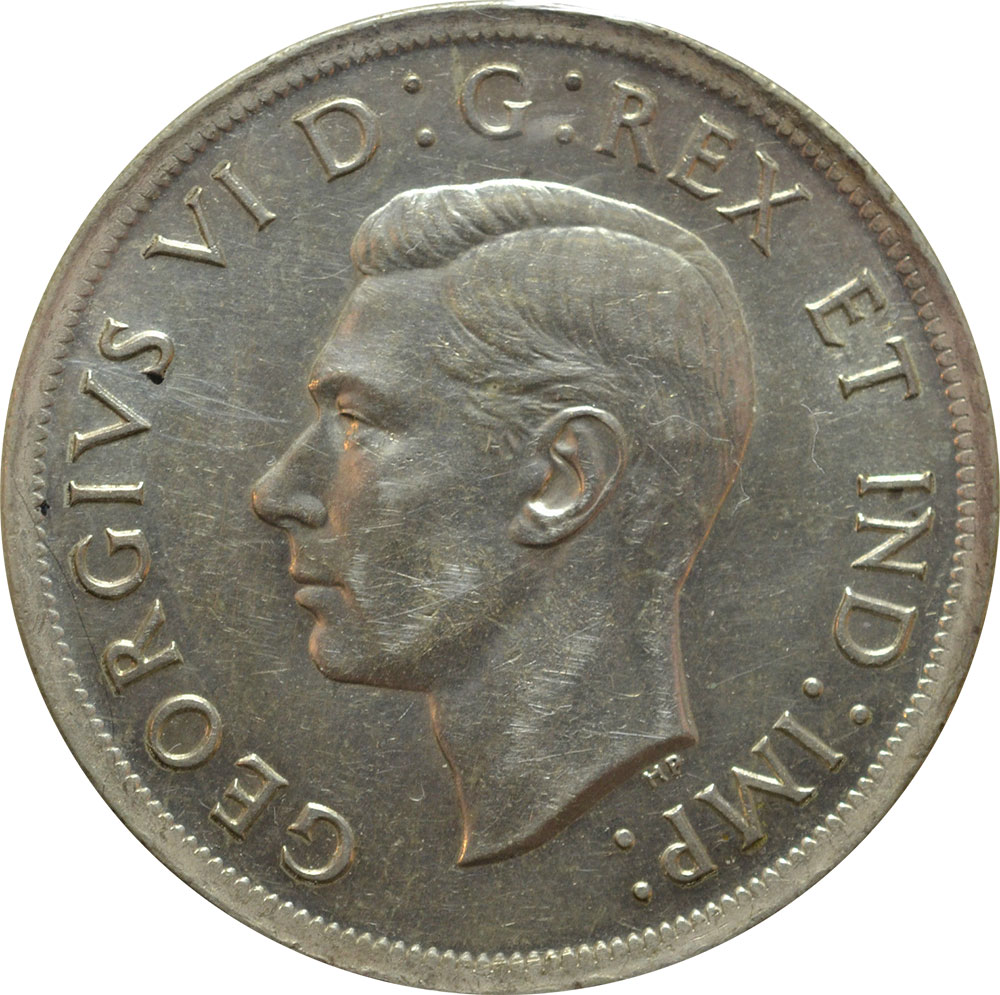 EF-40 - 1 dollar 1937 to 1952 - George VI