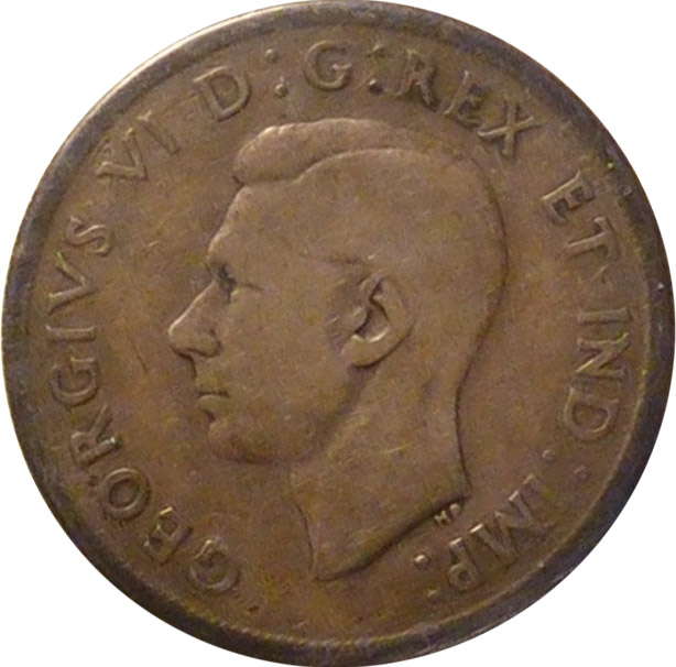 VG-8 - 1 dollar 1937 to 1952 - George VI